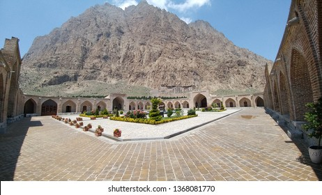 Safavid Caravanserai, Bisotun, IRAN This caravanserai is listed in Iranian national heritage on August 4th 1974. constructed by order of Shah Abbas I. There is an inscription from Shah Suleiman.