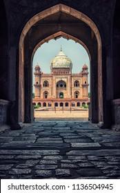Safdarjung's Tomb in New delhi, India