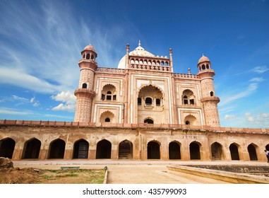 Safdarjung's Tomb is a sandstone and marble mausoleum in New Delhi, India.