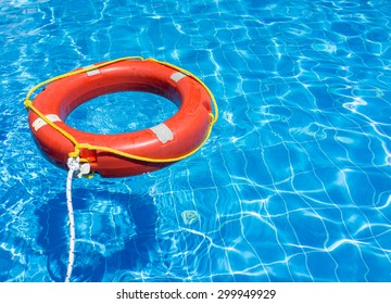 Safe belt in pool