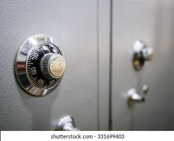 Safe Box Banking Password protected system