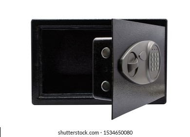 safe box on white background