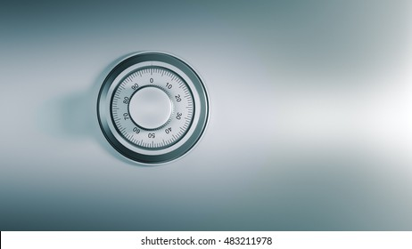 safe dial, security concept