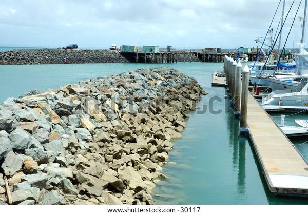 Safe harbour, Marina in Queensland, Australia 3