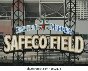 the Safeco Field sign