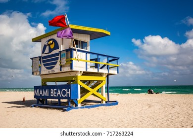 Safeguard house at the Miami South Beach