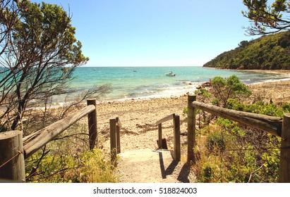 Safety beach, Mornington Peninsula, Victoria, Australia