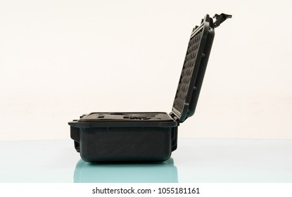 safety  Black case on table