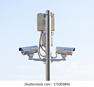 safety cctv control camera security monitoring equipment