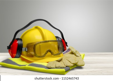 Safety Equipment - Helmet, Goggles, Ear Protection