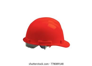 safety helmet isolated on white background