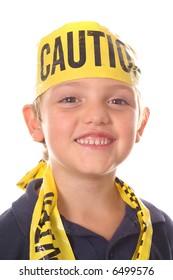 safety kid smiling
