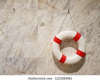 Safety Lifebouy hook on Tilewall