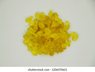 saffron sugar candy
