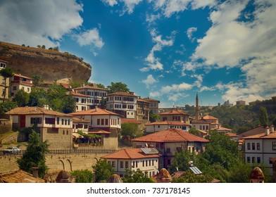 Safranbolu city in Turkey. Safranbolu was added to the list of UNESCO World Heritage sites in 1994