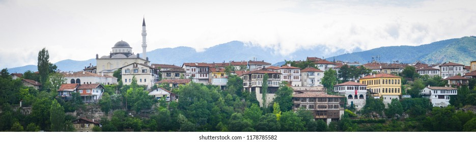 Safranbolu cityscape - Safranbolu is a small city with preserved Ottoman style old houses and a major tourist magnet in Karabuk - Turkey