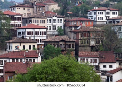 Safranbolu cityscape. Safranbolu is a town and district of Karabuk Province in the Black Sea region of Turkey.