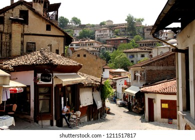 SAFRANBOLU, KARABUK, TURKEY - 30 June 2013. A view from the streets of Safranbolu which is a town famous for its traditional Ottoman architecture and bazaars.