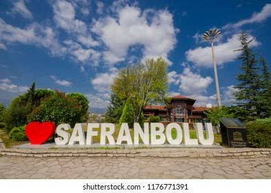 Safranbolu, Karabuk, Turkey - September 9, 2018: Safranbolu was taken to the UNESCO World Heritage List in 1994.
