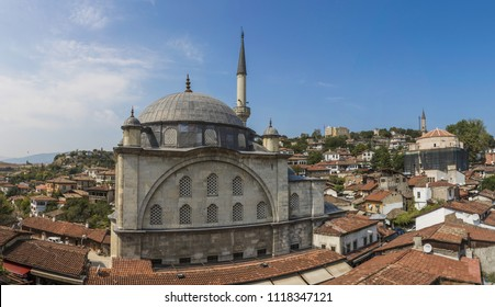 Safranbolu, Turkey - 21st September 2017 - a Unesco World Heritage site, Safranbolu is known the typical Ottoman buildings. Here in particular a panoramic view of the Old Town