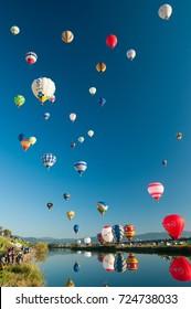 Saga International Balloon Fiesta /Saga International Balloon Festival Sunrise