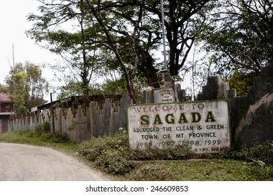 Sagada Sign - Philippines