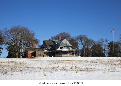 Sagamore Hill home of the 26th president of the United States, Theodore Roosevelt. He lived there from 1885 until his death in 1919. In 1962 Congress established Sagamore Hill National Historic Site.