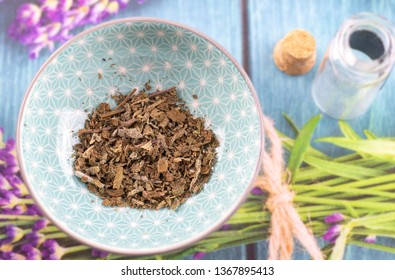 sage dried herbs detail, healthy living naturopathy
