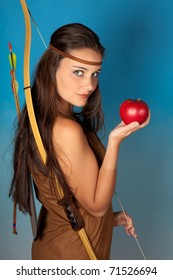 Sagittarius or Archer woman, this photo is part of a series of twelve Zodiac signs of astrology