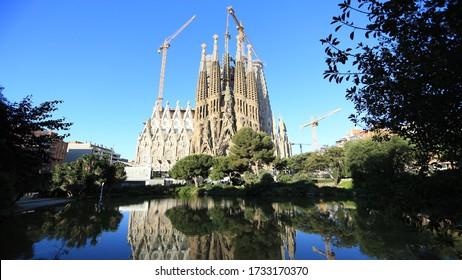 Sagrada Familia Antonio Gaudi Barcelona Spain