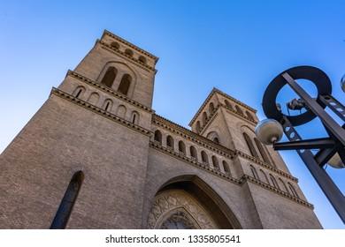 Sagrado corazon de Jesus Church in Zaragoza, Spain.