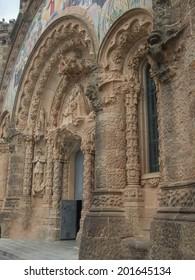 The Sagrat Cor church in Barcelona Spain