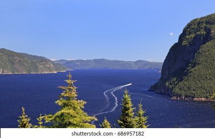 Saguenay Fjord, Quebec, Canada