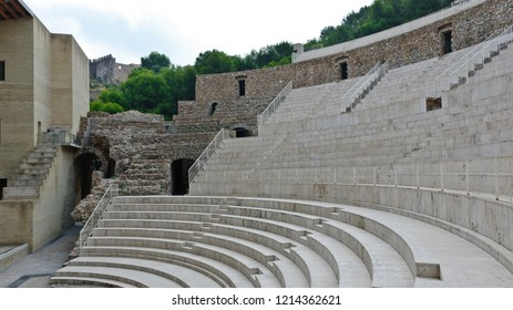 Sagunto, Spain - September 17, 2010: Roman Theatre