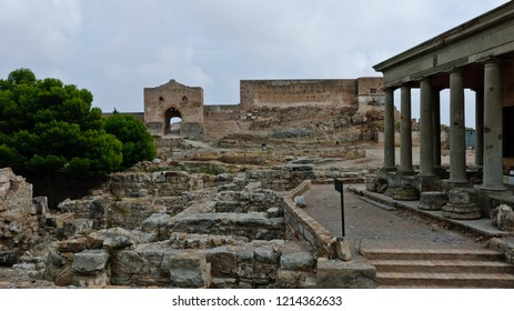 Sagunto, Spain - September 17, 2010: Castle of Sagunto