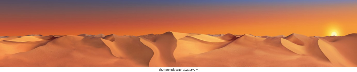 Sahara desert background.