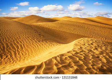 Desierto del Sahara - Douz, Túnez.