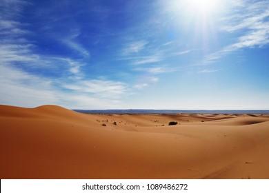 Sahara desert (Erg Chebbi, Morocco)