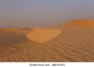 The Sahara desert in Mauritania