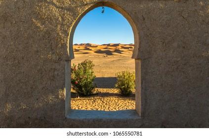 Sahara desert in Merzouga - Morocco
