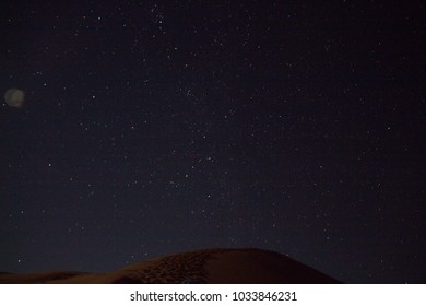 sahara's night sky