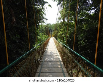 Sahasralinga Hanging Bridge at Sahasralinga is situated in river Shalmala, Sirsi Taluk in the district of Uttara Kannada of Karnataka state in India.