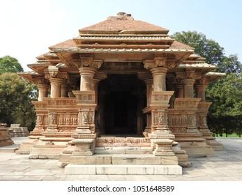 Sahastra Bahu Temple-1 at Nagda, Udaipur, Rajasthan, India. Sahastra Bahu Temple was built in early 10th century AD, dedicated to Lord Vishnu.