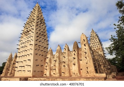 Sahelian mosque