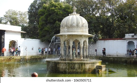 Saheliyon Ki Bari (Courtyard or Garden of the Maidens) is located in Udaipur in Indian state of Rajasthan - 14th January 2018