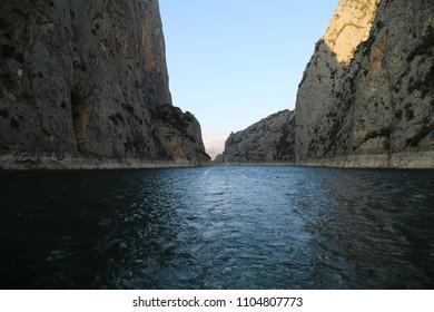 ''Sahinkaya'' Canyon in the ''Vezirköprü'' town. SAMSUN/TURKEY
