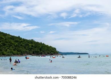 Sai Kaew Beach chonburi,THAILAND 2017