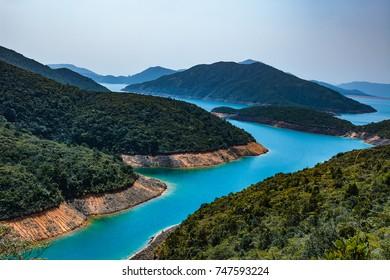 Sai Kung lagoon daylight landscape