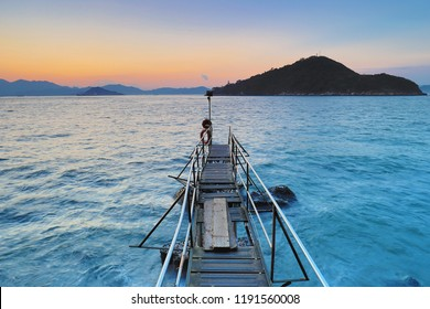 Sai Wan Swimming Shed pier at hk