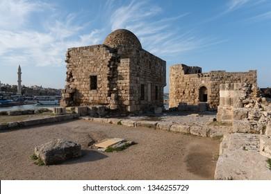 Saida (Sidon) Crusader Sea Castle is a medieval fortress build during the Crusades in Saida, Lebanon